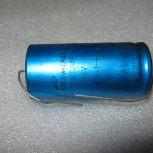 Condensatore Elettrolitico 10000uF 16V Assiale
