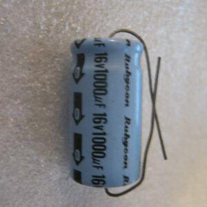 Condensatore Elettrolitico 1000uF 16V Assiale