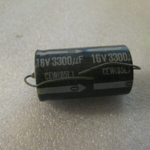 Condensatore Elettrolitico 3300uF 16V Assiale