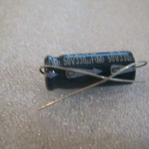 Condensatore Elettrolitico 330uF 50V Assiale