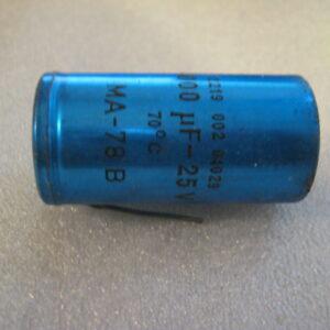Condensatore Elettrolitico 4000uF 25V Assiale