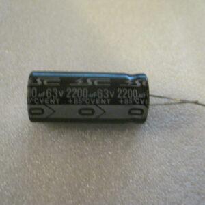 Condensatore Elettrolitico 2200uF 63V Radiale (Copia)
