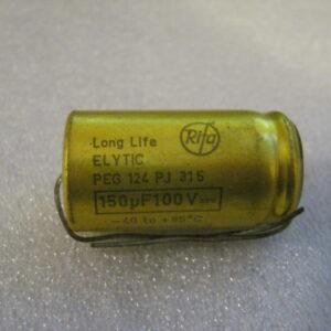 Condensatore Elettrolitico 150uF 100V Assiale