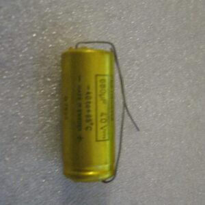 Condensatore Elettrolitico 680uF 40V Assiale