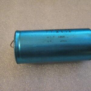 Condensatore Elettrolitico 6800uF 63V Assiale