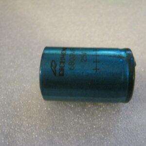 Condensatore Elettrolitico 6800uF 25V Assiale