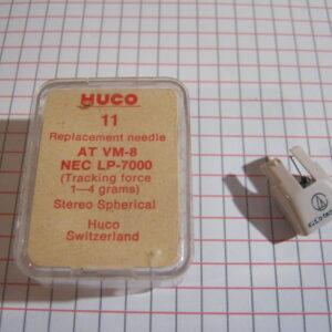 Puntina Giradischi HUCO 11 per AT VM-8 NEC LP-7000 ( 1-4 grams )