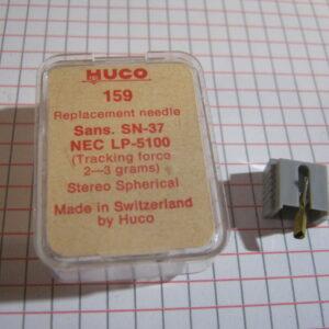 Puntina Giradischi HUCO 159 per Sansui SN-37 NEC LP-5100 ( 2-3 grams )