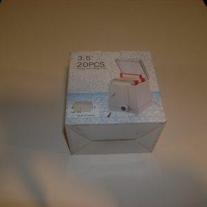 Contenitore per 20 Floppy Disk 3-1/2″