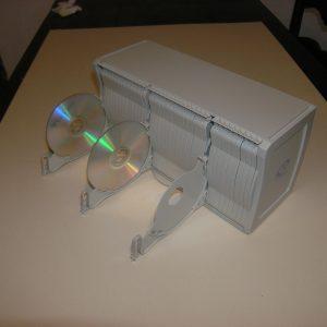 Contenitore per 80 CD/DVD CD ORGANIZER