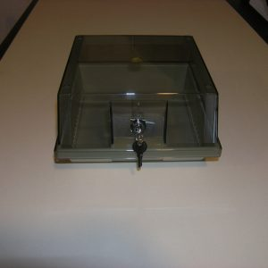 Contenitore per 80 Floppy Disk 3-1/2″ con Serratura
