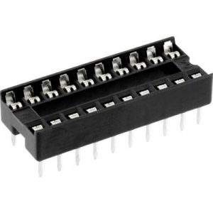 Zoccolo 20 pin per Circuiti Integrati passo 2,54