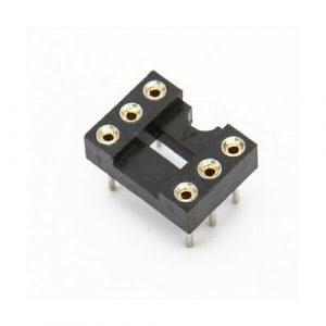 Zoccolo 6 pin Tornito per Circuiti Integrati passo 2,54