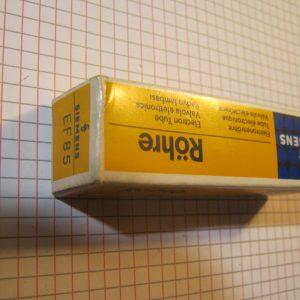 Valvola EF85 Pentodo ( Siemens / Philips ) NOS
