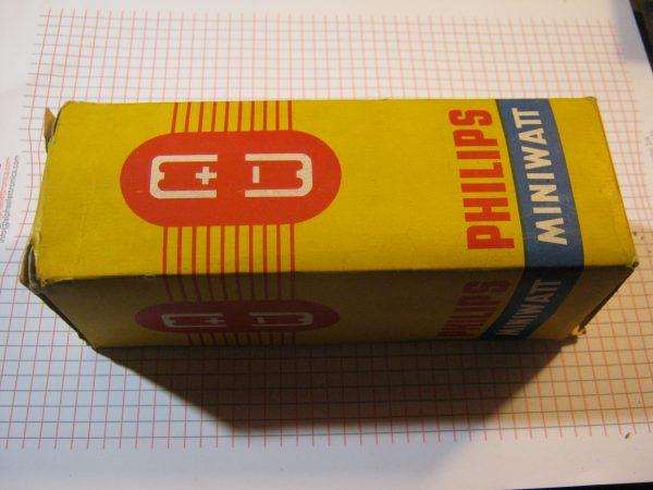 Valvola  EBL1  Double Diode-Pentode ( Philips )