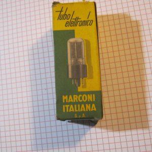 Valvola 6SA7GT Pentagrid Converters ( Heptode ) Tube ( Marconi Italiana) NOS