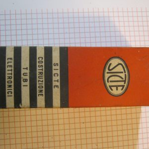 Valvola 6SR5  Rettificatrice Doppia Semionda Tube ( Sicte ) NOS