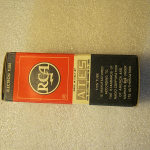 Valvola 6W4GT  Rettificatrice a Semionda Tube ( RCA) NOS