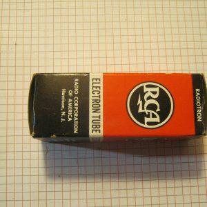 Valvola 6AX3  Rectifier Tube ( RCA ) NOS
