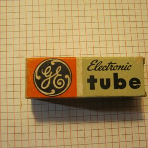 Valvola 6CY7 Double Triode Tube ( General Electric ) NOS