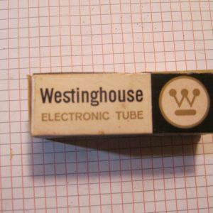 Valvola 6GK5 Triode ( Westinghouse ) NOS