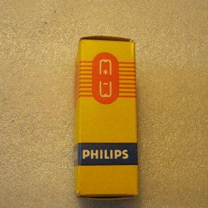 Valvola EABC80 Triple Diode – Triode Tube ( Philips ) NOS