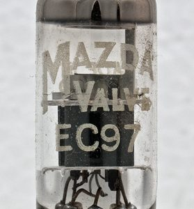 Valvola EC97 Triode Tube ( Philips ) NOS