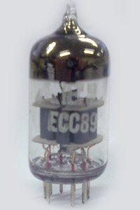 Valvola ECC89 Double  Triode Tube ( Philips ) NOS