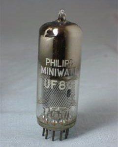 Valvola UF80  Pentodo  (  Philips ) NOS