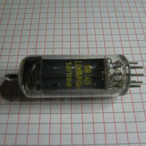 Valvola UY85  Rettificatrice a Semionda Tube ( Philips ) NOS