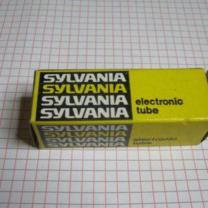 Valvola 6GY6 / 6GX6  Pentodo  (  Sylvania ) NOS