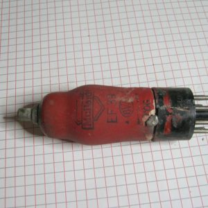 Valvola EF39  Pentodo  ( Mullard )